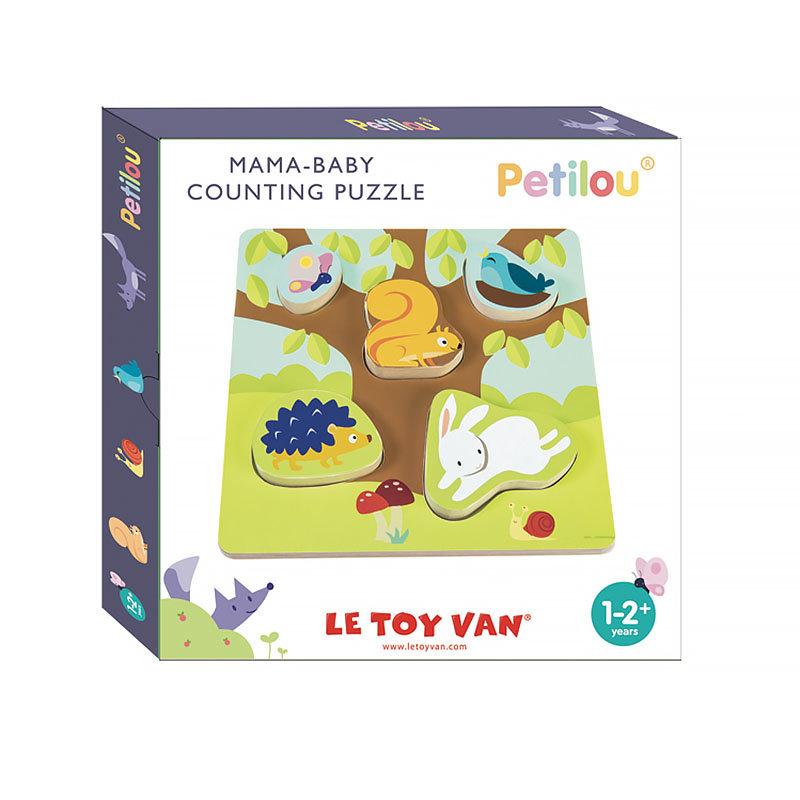 Пазл Le Toy Van мама и малыш 5 шт.