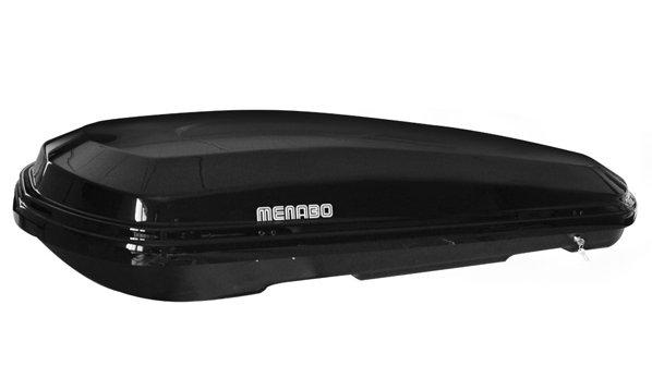 Автомобильный бокс Menabo Diamond 500 duo Black