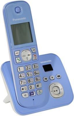 Радиотелефон Радиотелефон DECT Panasonic KX-TG6821RUF синий