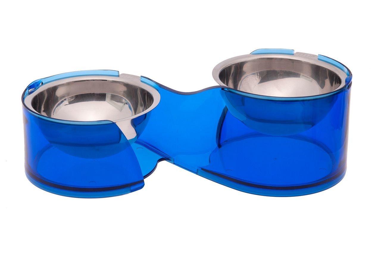 Миски Karlie для собак металлические 2 шт, на подставке