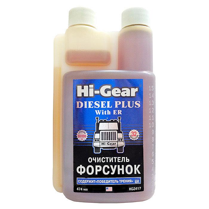 Очиститель форсунок для дизеля (содержит ER), 474 мл. HG3417