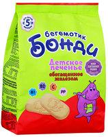 Печенье детское Бонди бегемотик обогащенное железом с 5 месяцев, 180г