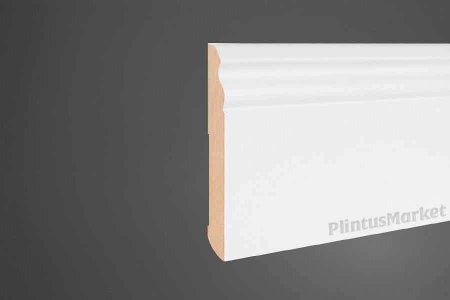 Плинтус Pedross белый МДФ напольный высокий 5911