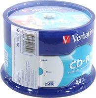 Диск CD-R Verbatim 43309/43438