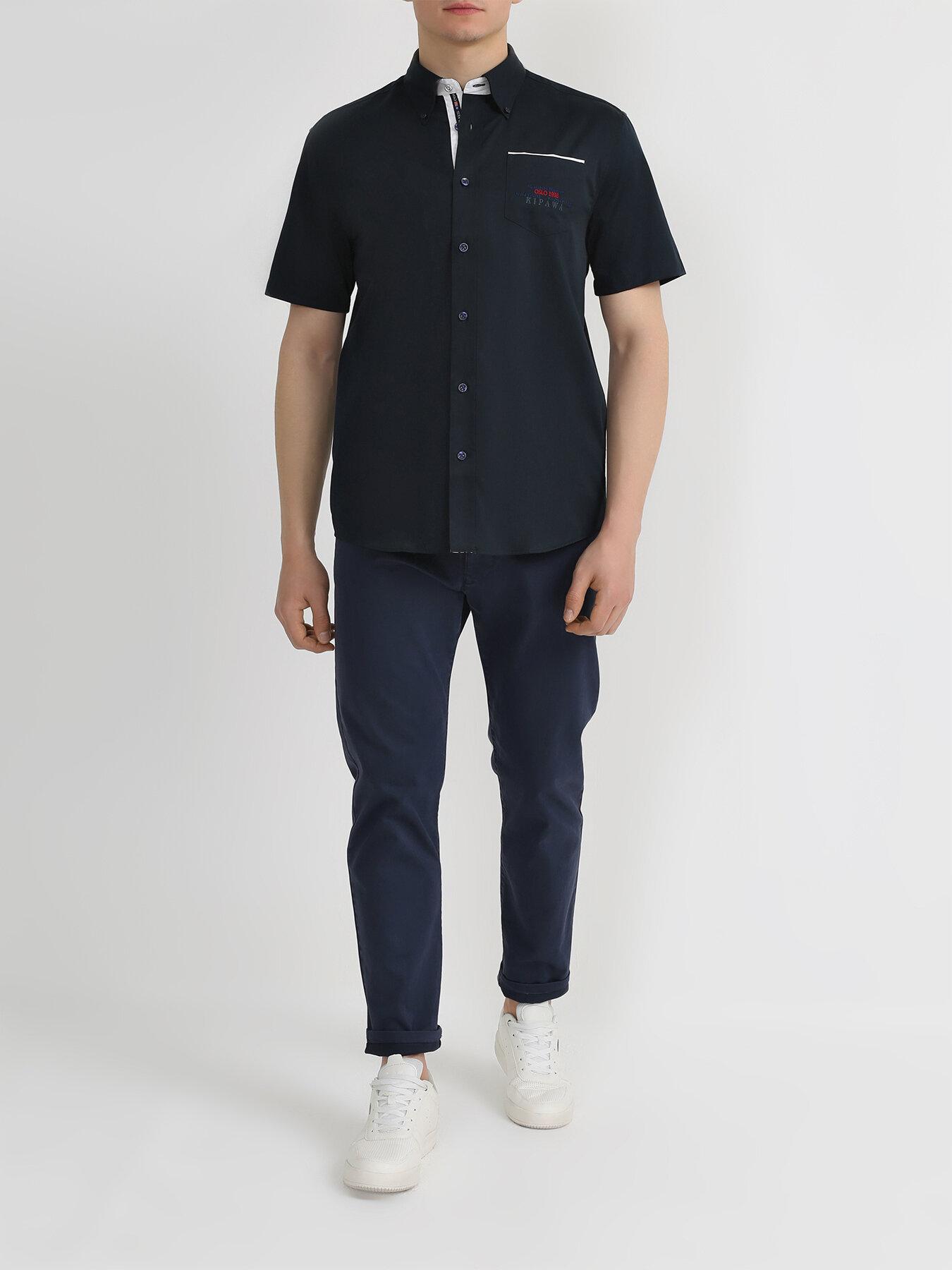 Рубашка Alessandro Manzoni Yachting Рубашка с коротким рукавом