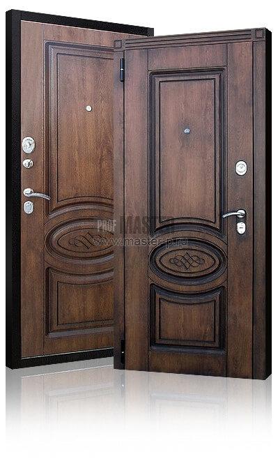 Металлическая входная дверь в квартиру с шумоизоляцией