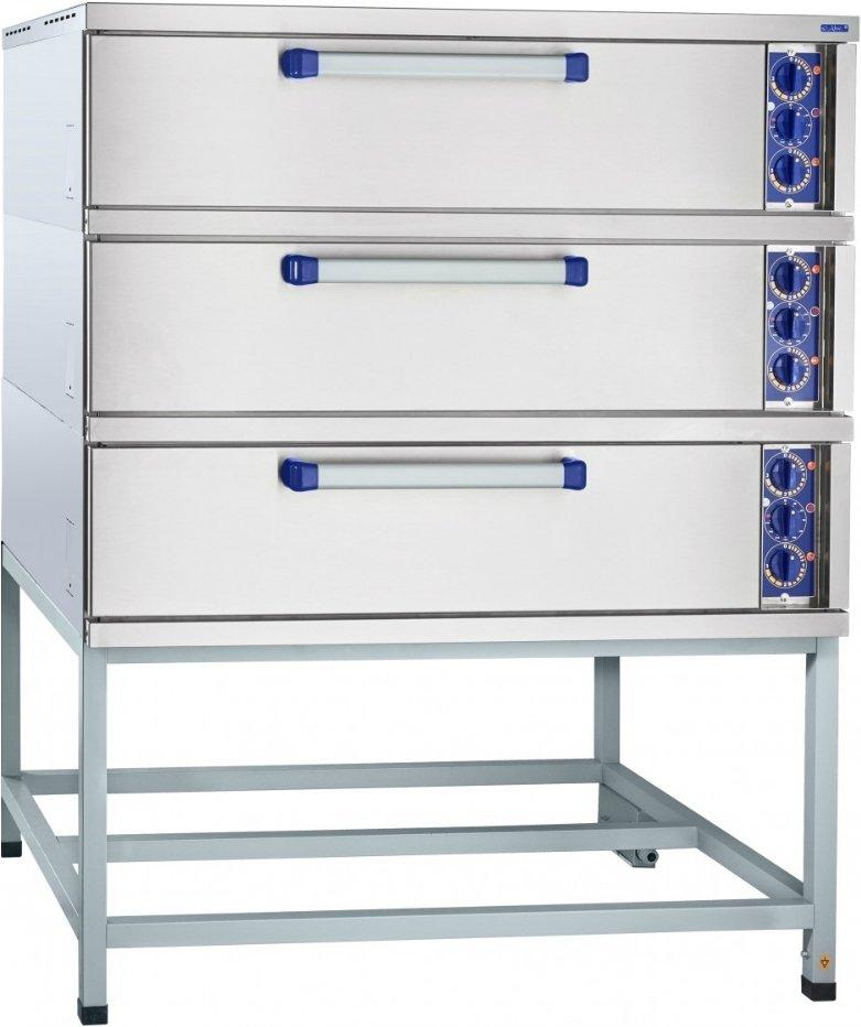 Подовый пекарский шкаф ABAT ЭШ-3К