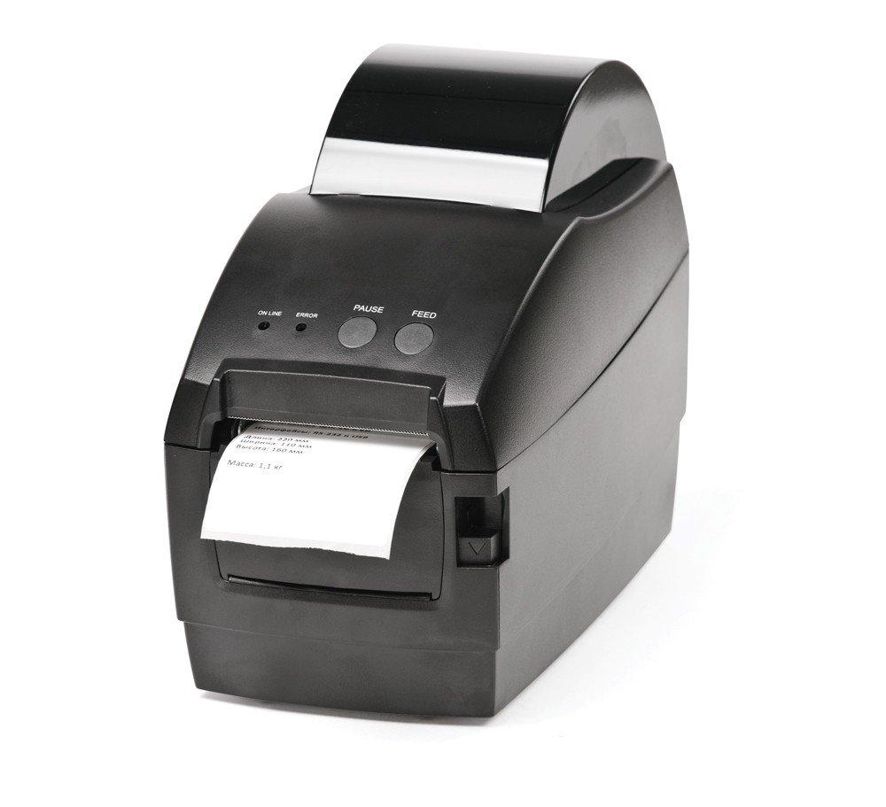 Принтер этикеток АТОЛ BP21 термопринтер, 203 dpi, RS232 и USB, ширина 54 мм, скорость 127 мм/с