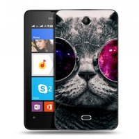 Дизайнерский силиконовый чехол для Microsoft Lumia 430 Dual SIM