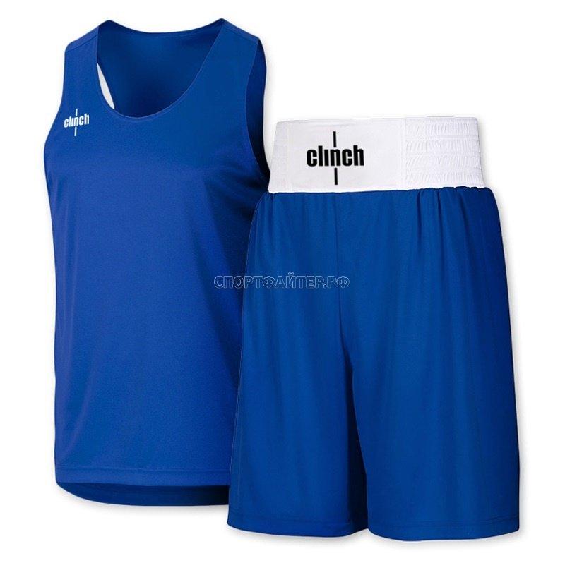 Боксерская форма Clinch Olimp - синяя