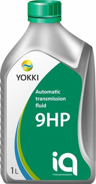 Масло трансмиссионное YOKKI IQ ATF 9 1 л, для автоматических коробок передач