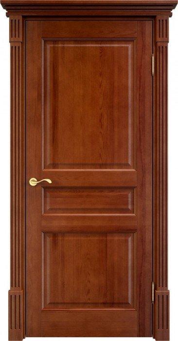Межкомнатная дверь Белорусская ПМЦ 5Ш ДГ (Коньяк)