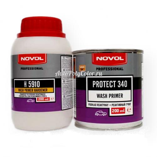 Грунт кислотный фосфатирующий Novol Protect 340