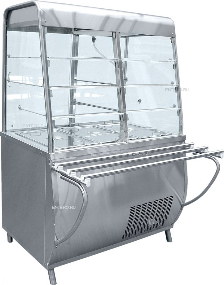 Витрина-прилавок холодильная Abat ПВВ(Н)-70Т-С-НШ
