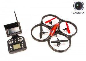 Квадрокоптеры с камерой Радиоуправляемый мини квадрокоптер WLToys V606 (FPV 5.8GHz) с 6-осевым гироскопом