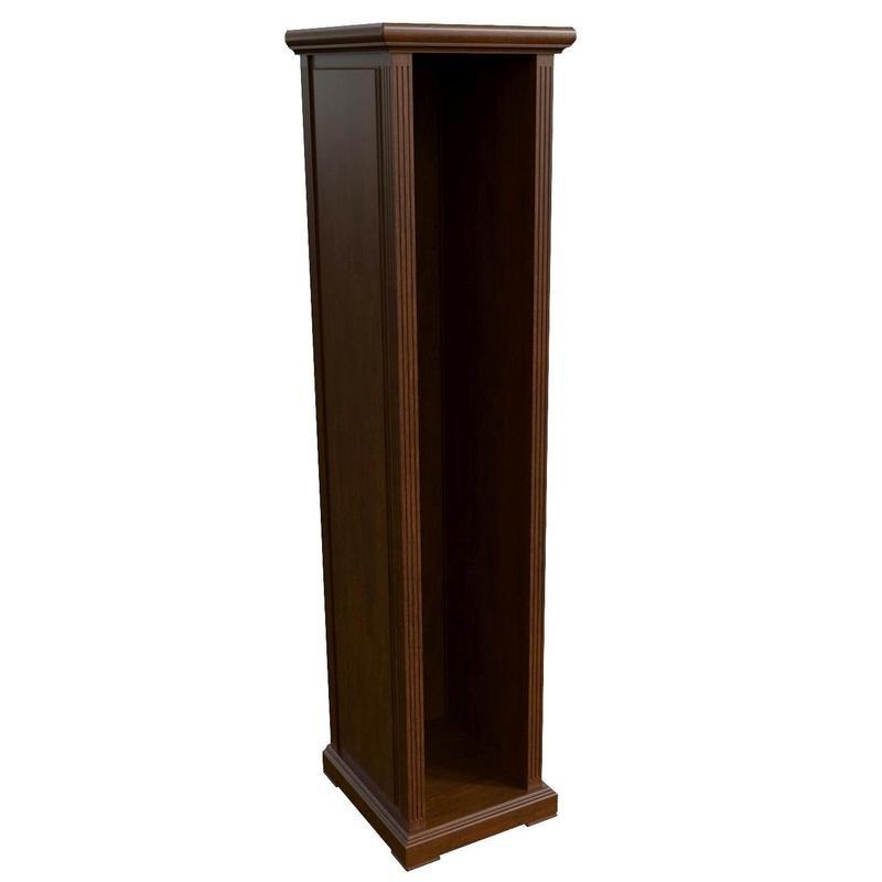 Каркас шкафа/гардероба узкий Washington (ширина 540 мм, темный орех)