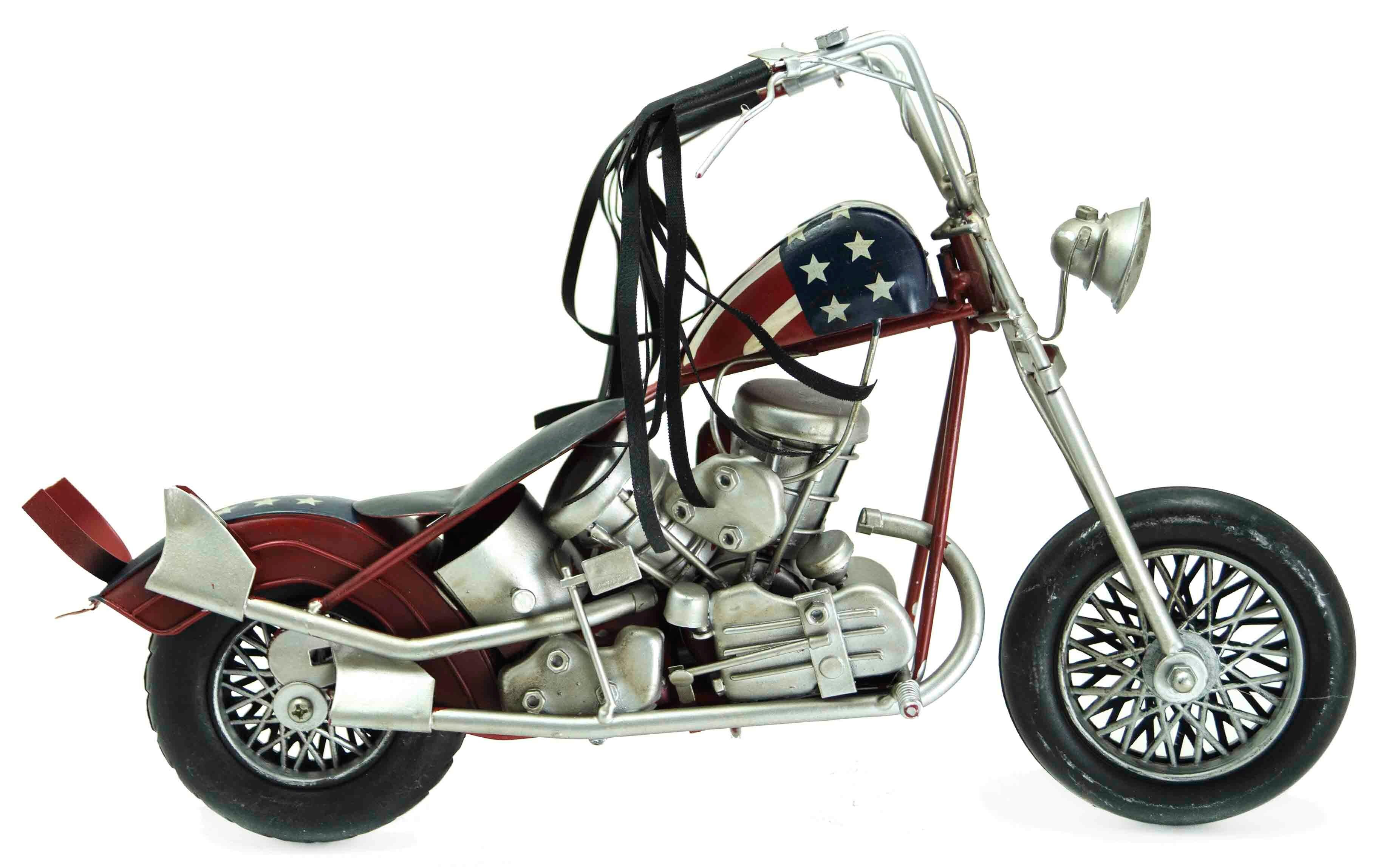 Модель мотоцикла HARLEY DAVIDSON EASY RIDER 1940 S-1950 S