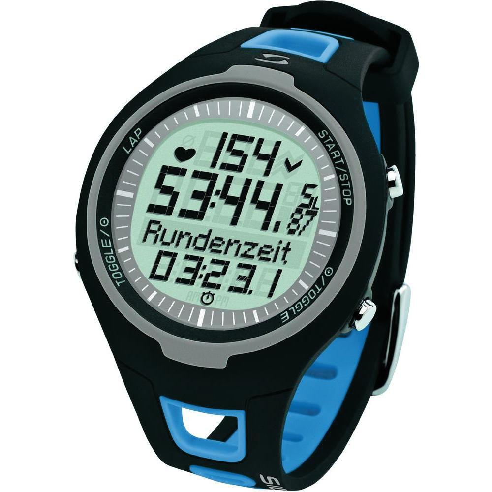 Часы спортивные SIGMA PC-15.11 BLUE, 15 функц. пульсометр