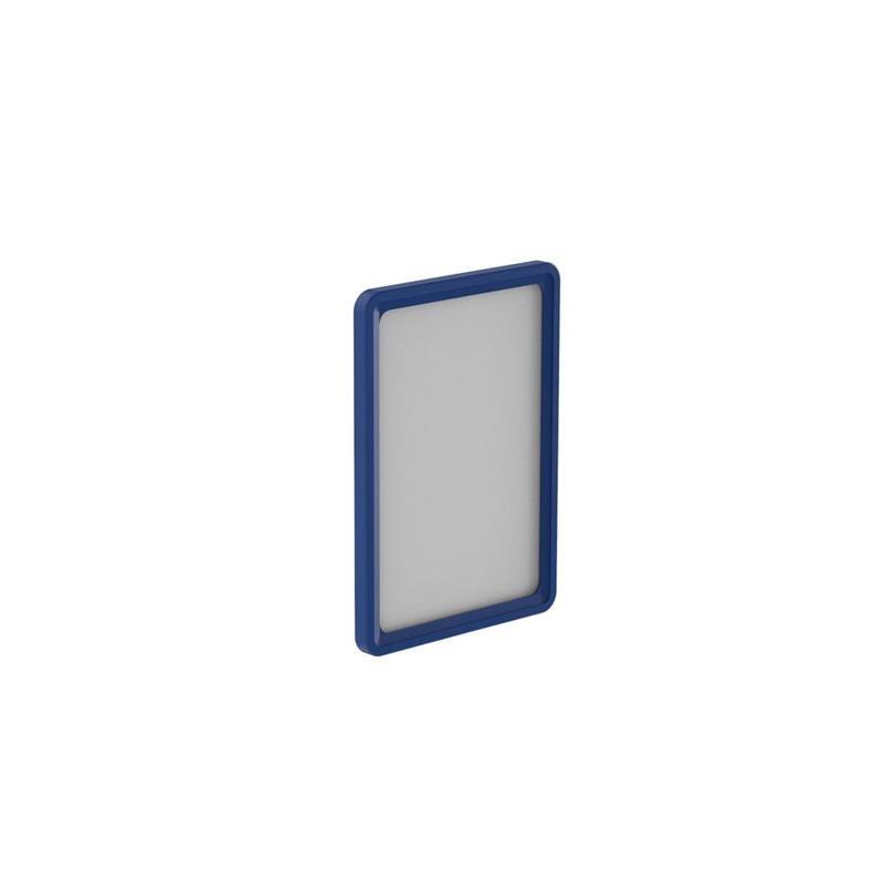 Держатель для информации, рамка пластиковая, А4, цвет синий, 10 штук