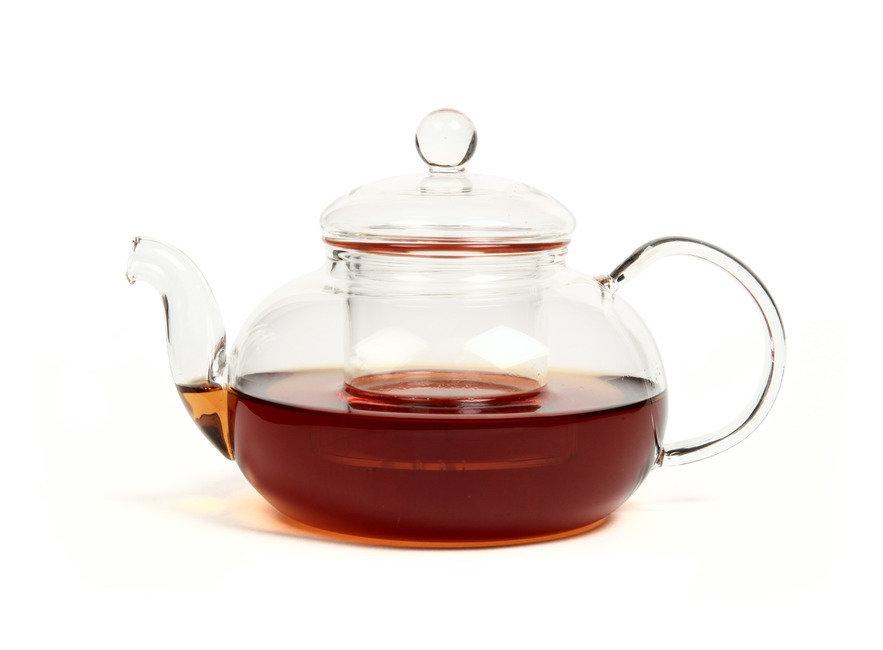 """Посуда Yiqingyuan Чайник из жаропрочного стекла 600 мл """"Смородина"""" без заварочной колбы (шт)"""