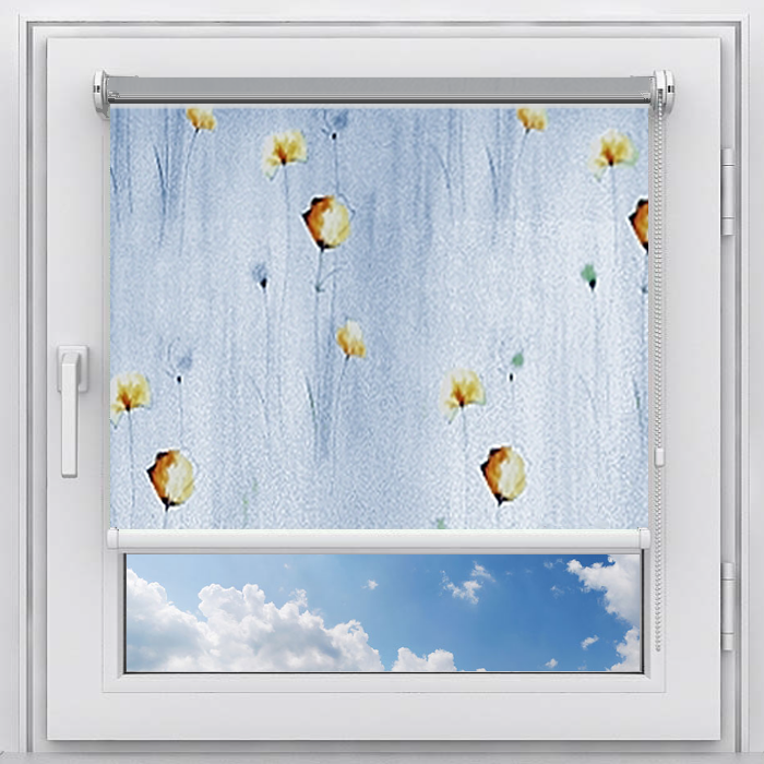 Рулонная штора Мастер Плюс Рулонная штора на пластиковое окно мини Патия