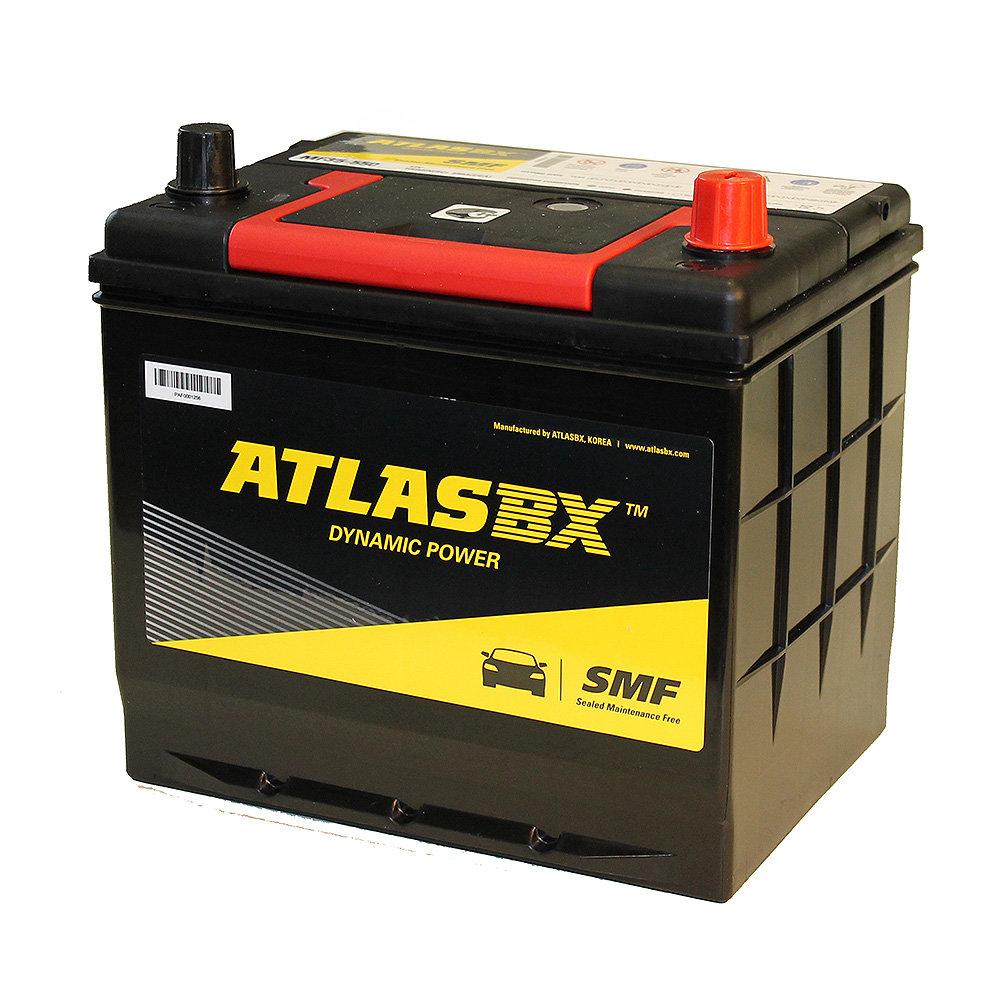 Аккумулятор 60 а/ч, европейская полярность, ATLAS MF35-550 (нижн. крепл.) ATL-MF35-550