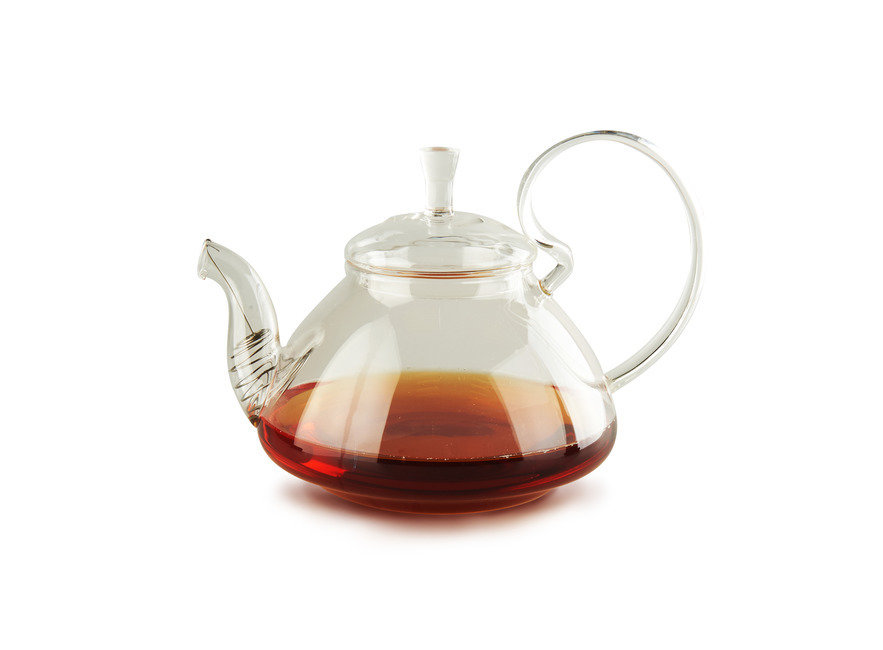 """Посуда Yiqingyuan Чайник из жаропрочного стекла 1200 мл """"Клюква"""" (шт)"""