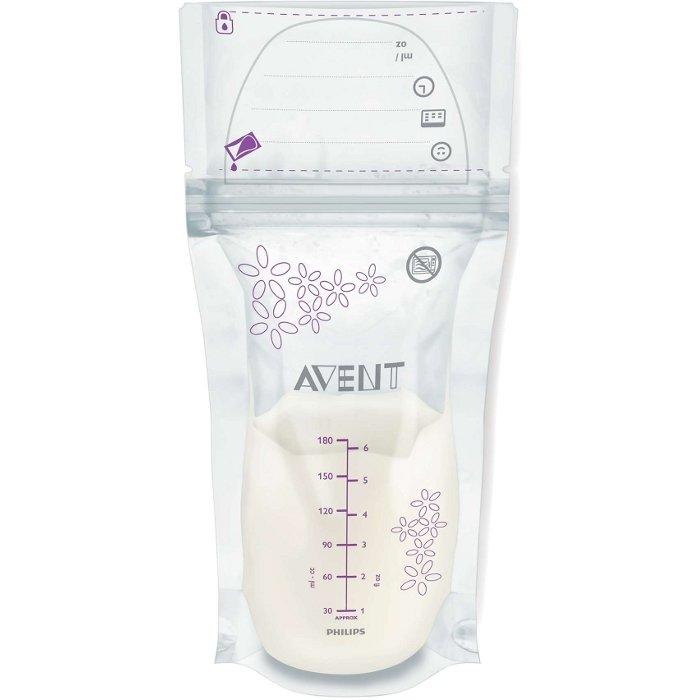 Пакеты для грудного молока AVENT SCF603 / 25 (180 мл, 25 шт.)