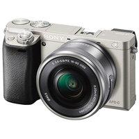 Фотоаппарат Sony Alpha ILCE-6000 Kit 16-50 mm Silver