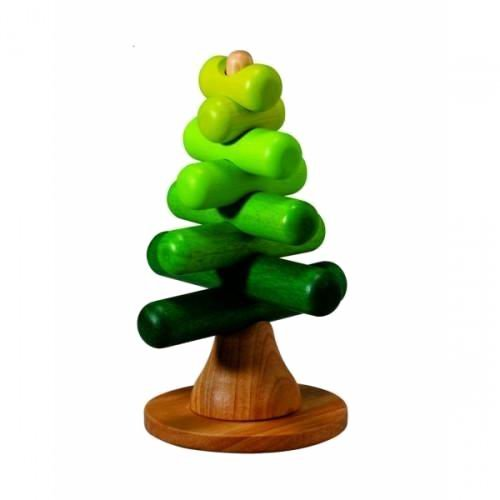 Деревянная игрушка Plan Toys Пирамидка-Дерево