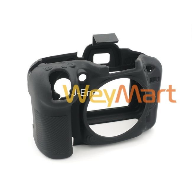 Силиконовый чехол для фотоаппарата Nikon D7200 (цвет черный)