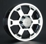 Диск LS Wheels 326 7x16 5/139,7 ET35 D98,5 BKF - фото 1