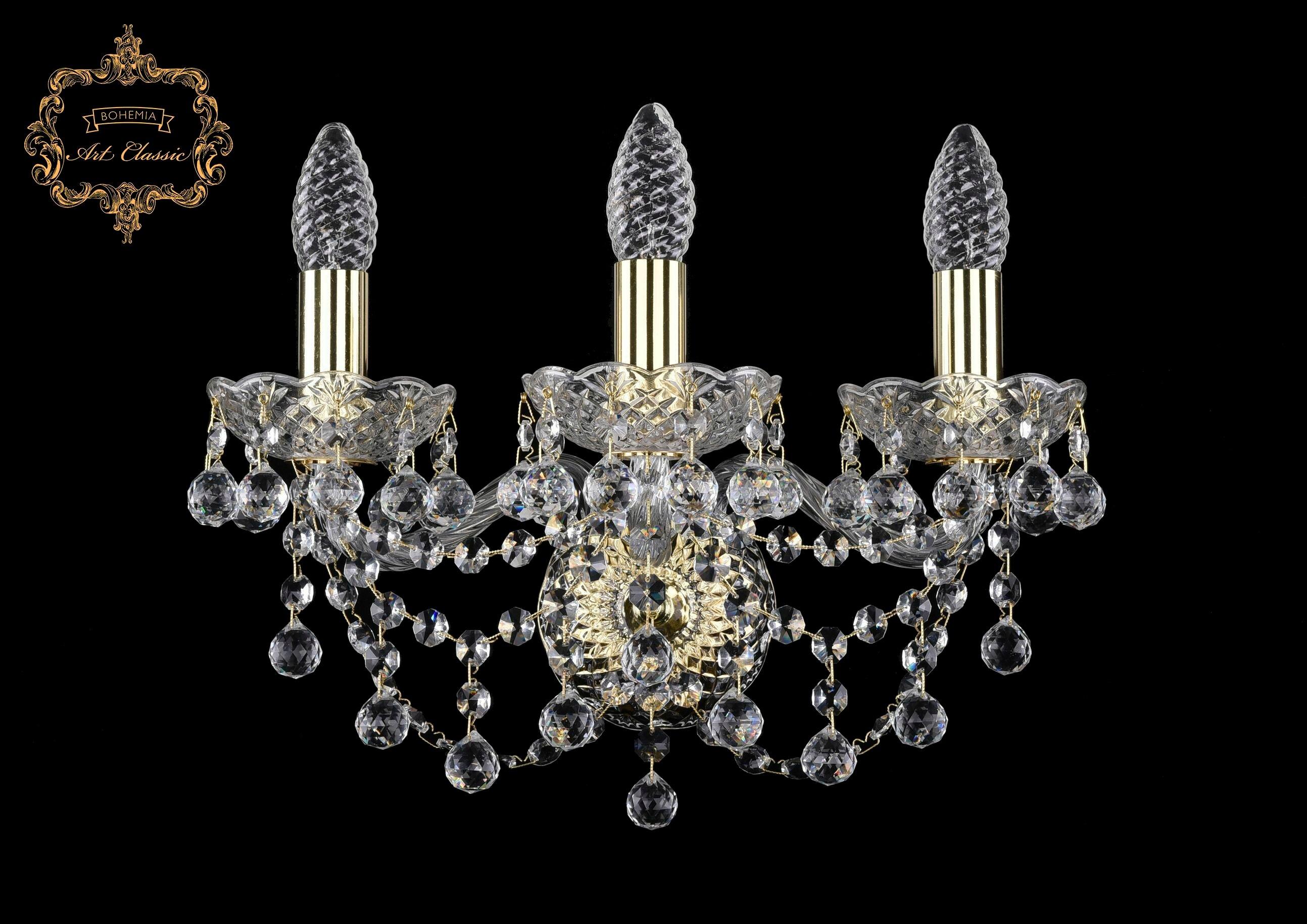 Настенный светильник Bohemia Art Classic 10.26.3.141.Gd.B 11.26