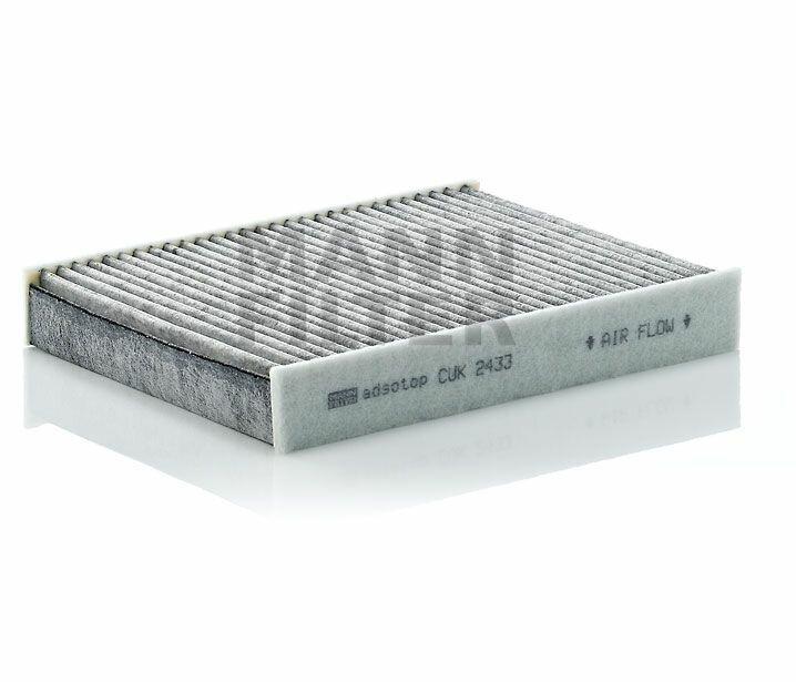Салонный фильтр с активированным углем MANN CUK2433