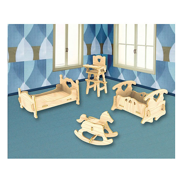 МДИ Дерев.сборн.модель детская спальня п010