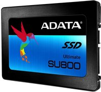 "Накопитель SSD 2.5'' ADATA ASU800SS-512GT-C Ultimate SU800 512GB TLC 3D NAND SATA 6Gbit/s 520/560Mbs IOPS 85/85K 400TBW Adapter 2.5""(7mm to 9.5mm) RTL"