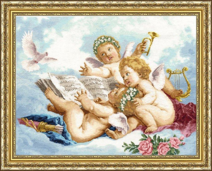 Наборы для вышивки ангелочки 8