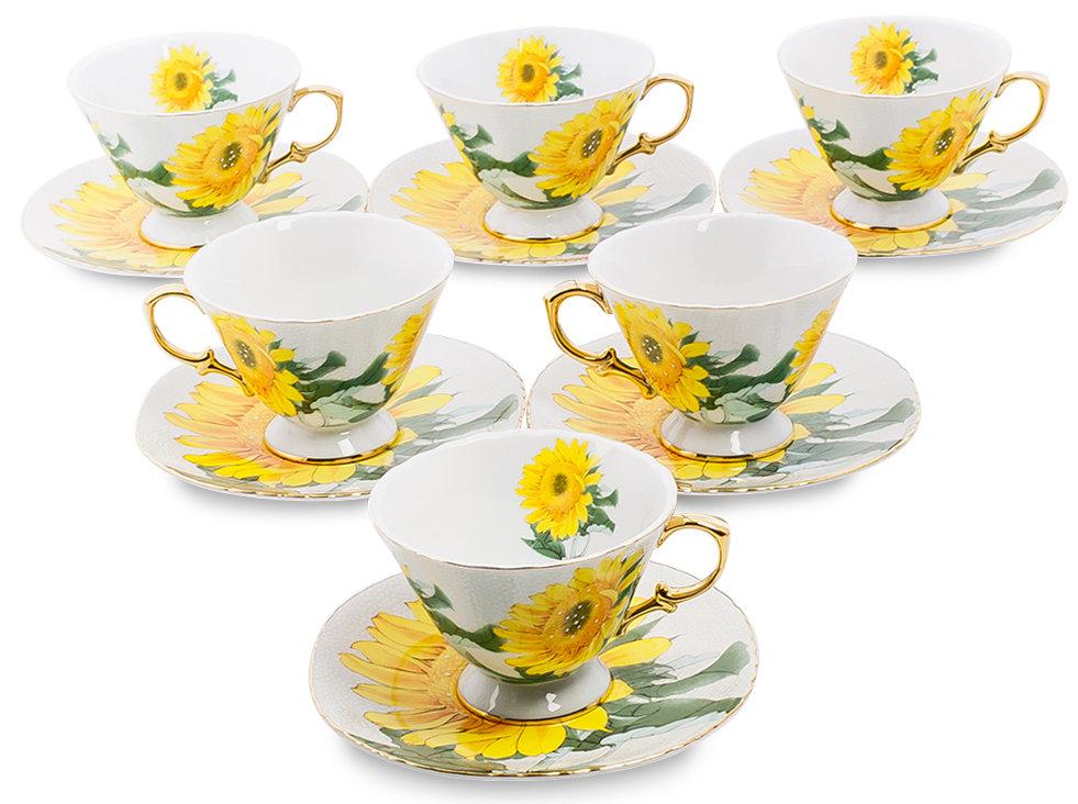 Поздравление на чайный сервиз