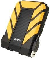Внешний жесткий диск 2.5'' ADATA AHD710P-2TU31-CYL 2TB внешний HD USB3.0 ADATA HD710P прорез. корпус антишок желтый