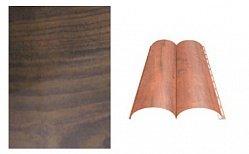 Сайдинг наружный металлический МеталлПрофиль Woodstock Дуб мореный матовый 4м