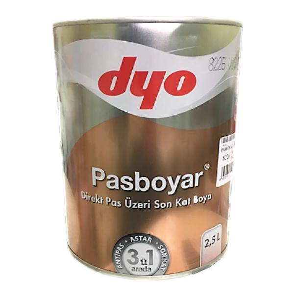 Dyo PASBOYAR - Алкидная эмаль прямо на ржавчину 3 в 1
