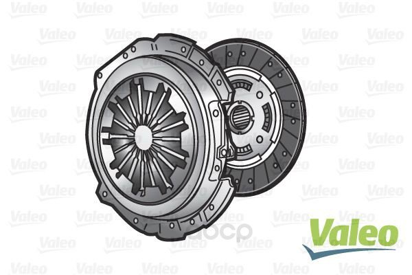 Комплект сцепления [без выжимного] Valeo арт. 828448