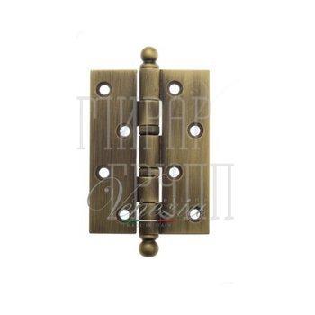 Дверные петли Venezia Collezione Петля дверная универсальная латунная Venezia CRS010 102 мм матовая бронза
