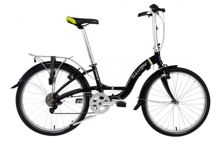 Складной велосипед Dahon Briza D8 (2017) черный Один размер