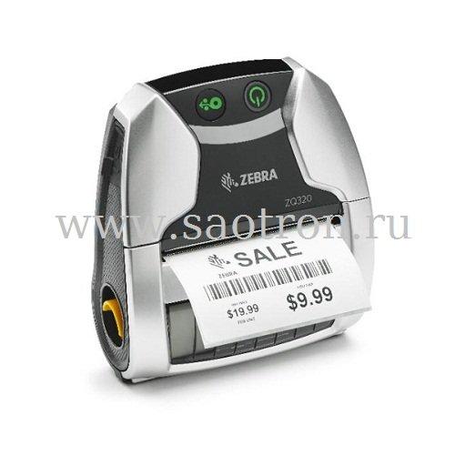 принтеры мобильные zebra zq-320 / ZQ32-A0W01RE-00 / мобильный принтер zebra zq320 (usb, wlan, bt, ширина печати 72 мм, indoor)