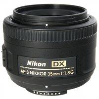 Объектив NIKON 35 mm f/1.8G AF-S DX Nikkor