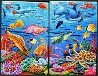 Пазл Коралловые рифы, 25 деталей Larsen H23