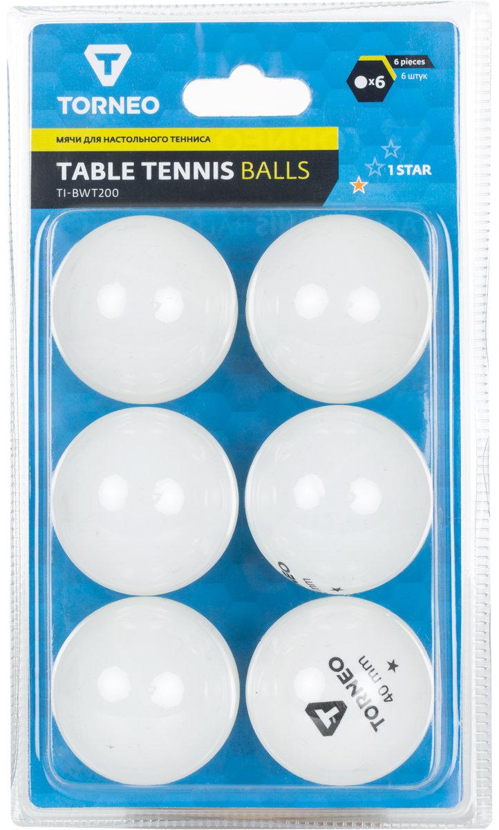 Torneo Мячи для настольного тенниса Torneo, 6 шт.