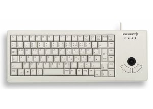Клавиатура CHERRY G84-5400LUMRB-0 USB TrackBall