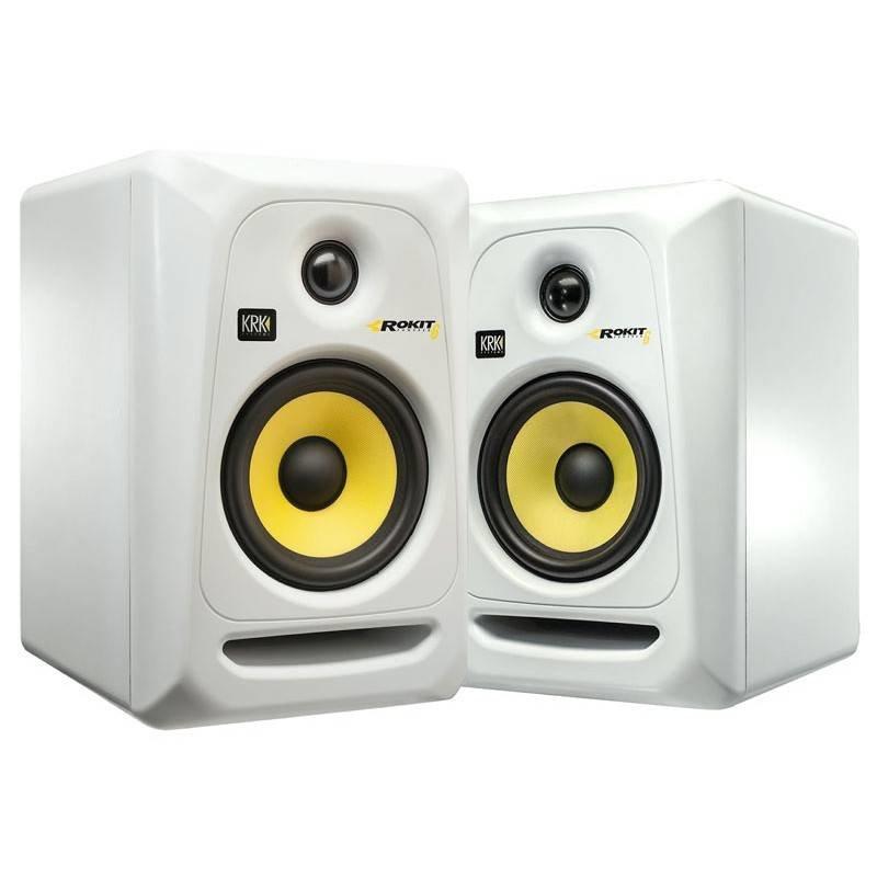 KRK SYSTEMS KRK RP6G3W Активный 2-х полосный (Bi-Amp) 6-ти дюймовый студийный звуковой монитор, белый
